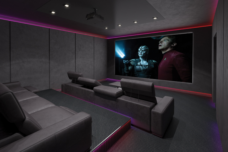 Ingeny Launches Cinema Room Solution For Commercial
